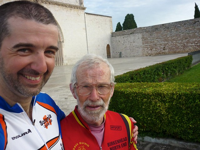 Sponsored Cycle - Southampton to Assisi 2011 - the return - 15
