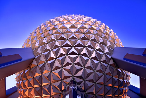 Spaceship Earth, Looking Up, Ultra Wide (Explored)