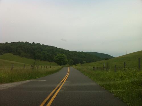 road landscape drive virginia view eggleston