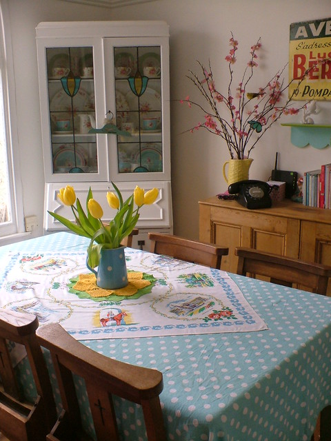 Dining Room Tablecloth Flickr Photo Sharing