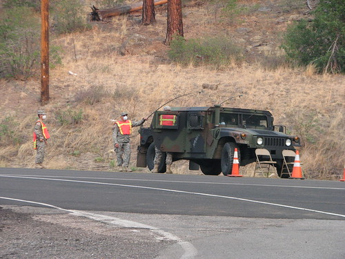 National Guard checkpoint