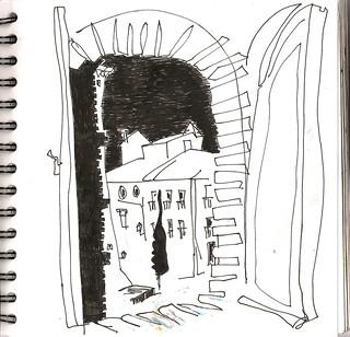 El otro cuaderno, desde la ventana, Teruel