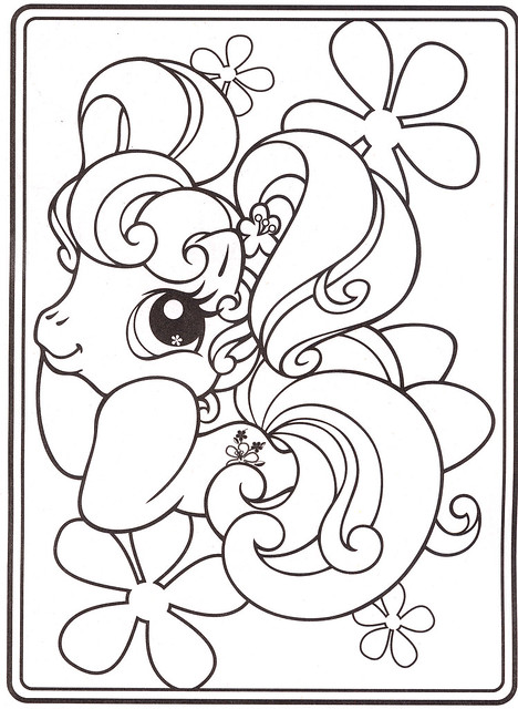 My Little Pony Hub Coloring Pages : Free the hub my little pony coloring pages