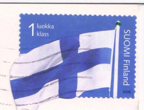 Finland Flag Stamp
