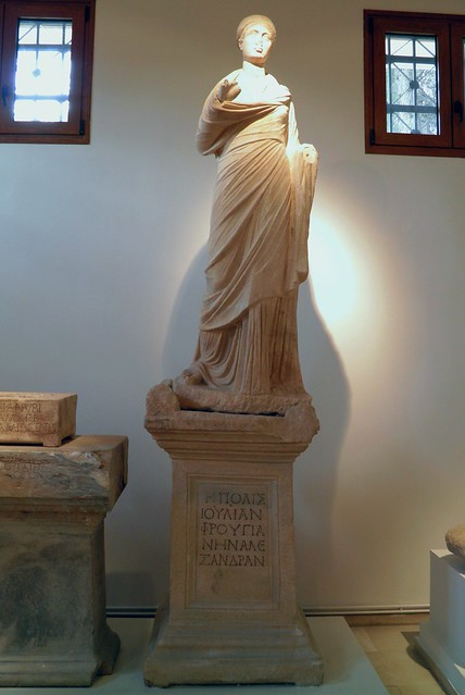 Statue of Julia Frougiane Alexandra, 2nd c. AD, Archaeological Museum, Dion