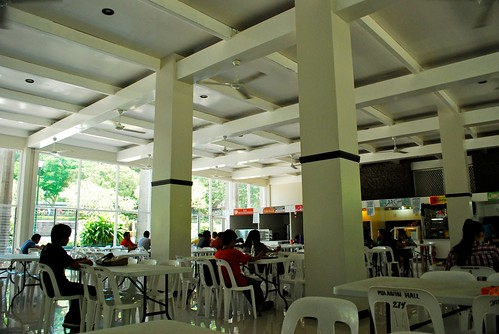 Student Union Building cafeteria