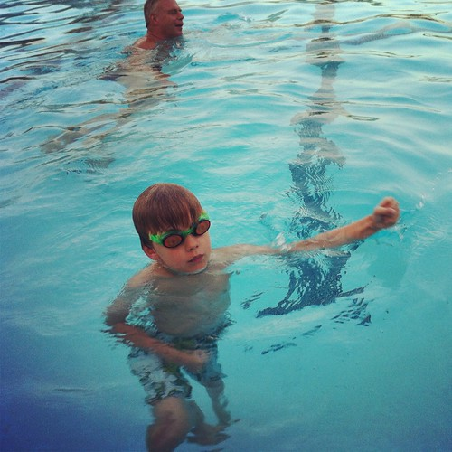 127/366 :: sunday night swim