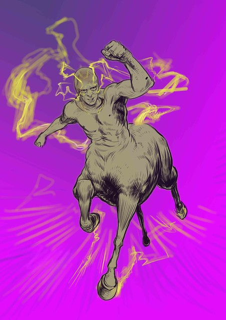 New 52: Speed Centaur