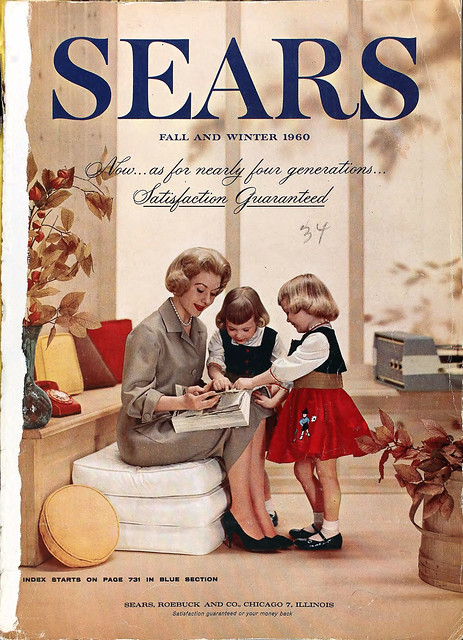 Sears Catalog Cover, Fall/Winter 1960