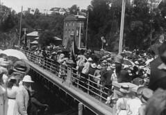 Gawler Bridge opening, January 1908
