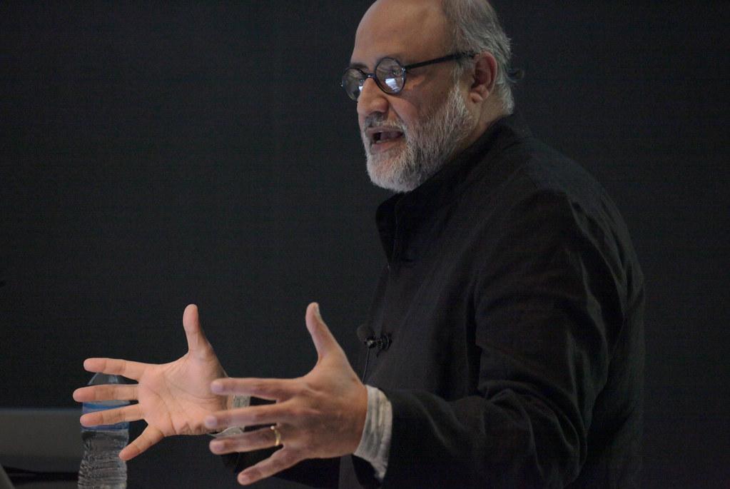 Keynote speaker Rahul Mehrotra.