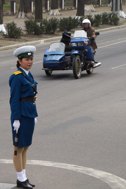 OH NO! PYONGYANG TRAFFIC LADIES BEING RETIRED ?? - Page 2 7155067696_487127fcf4_z