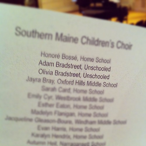 unschoolers in the house! #unschooling #teens #choir #myvoiceismyinstrument