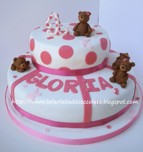 Torta 1 Anno per Gloria