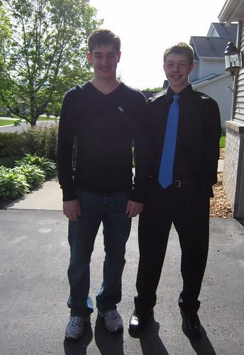 Tyler and Drew