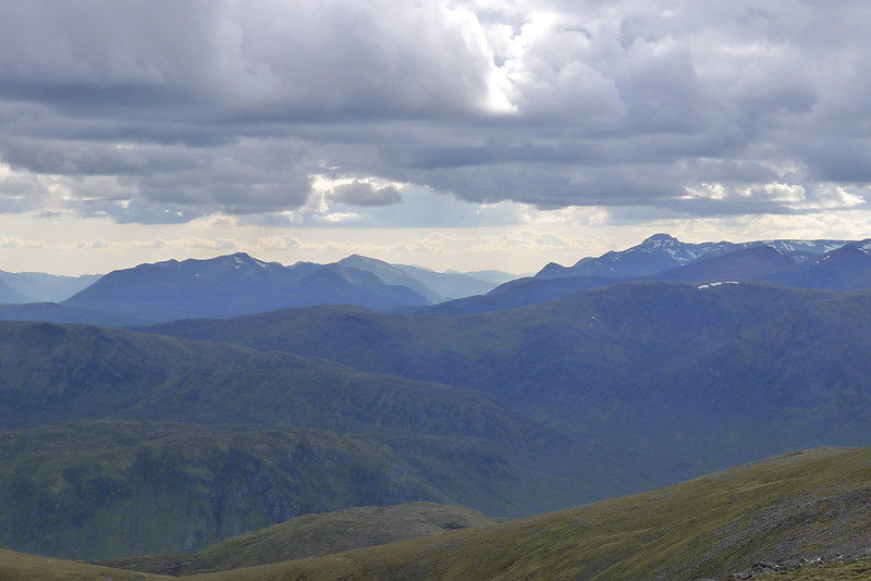 The Mamores and Ben Nevis