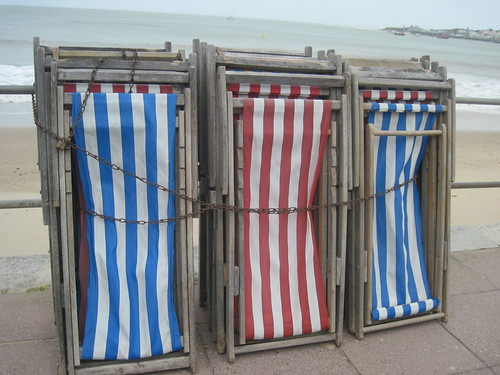 Beach Chairs in Swanage