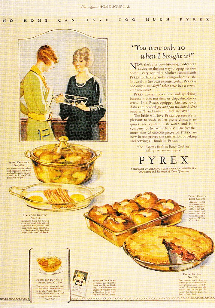 Mother Gives Daughter Her Used Pyrex Dish for Wedding Gift