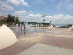 Rockwall Harbor Area Fountain
