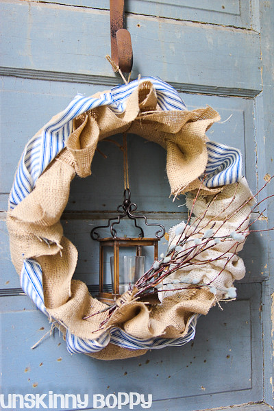 Burlap Pool Noodle wreath  (5 of 8)