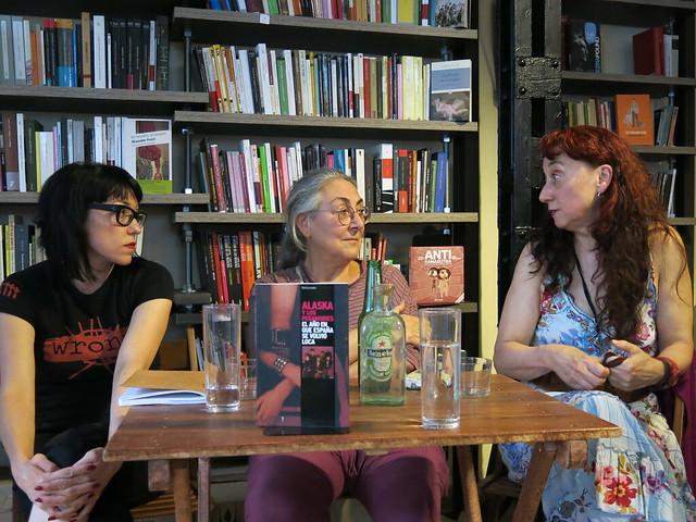 Las mujeres de 'La Movida', tertulia en La Marabunta