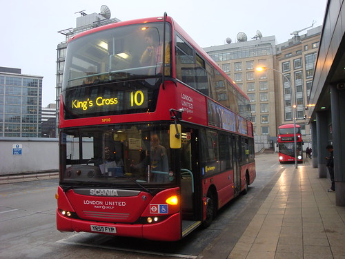 London United SP110 on Route 10, Hammersmith