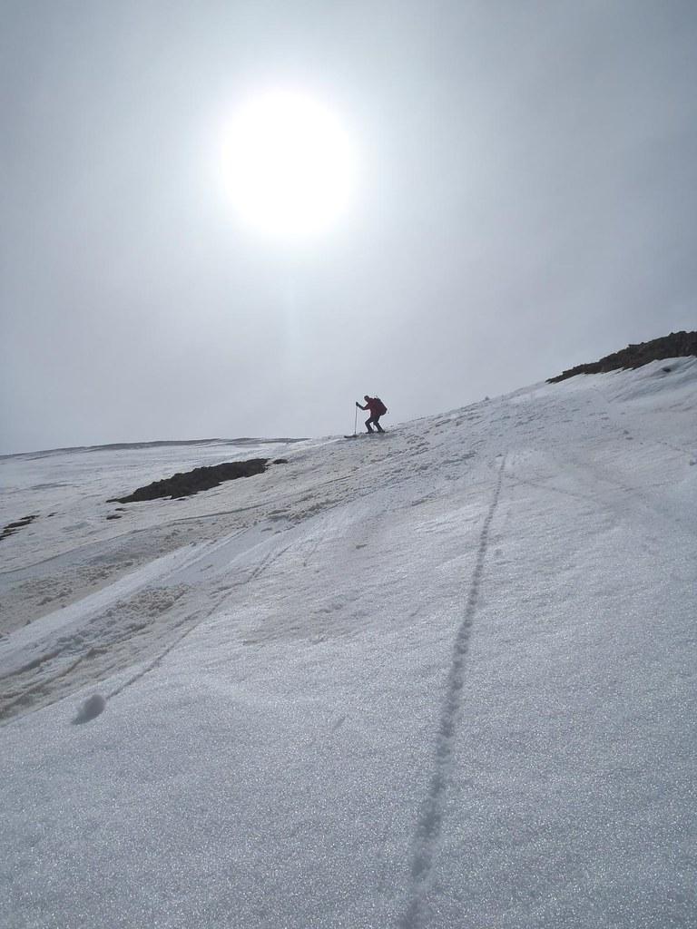 ski de rando aux lacs de lignins par le puy du pas roubinous
