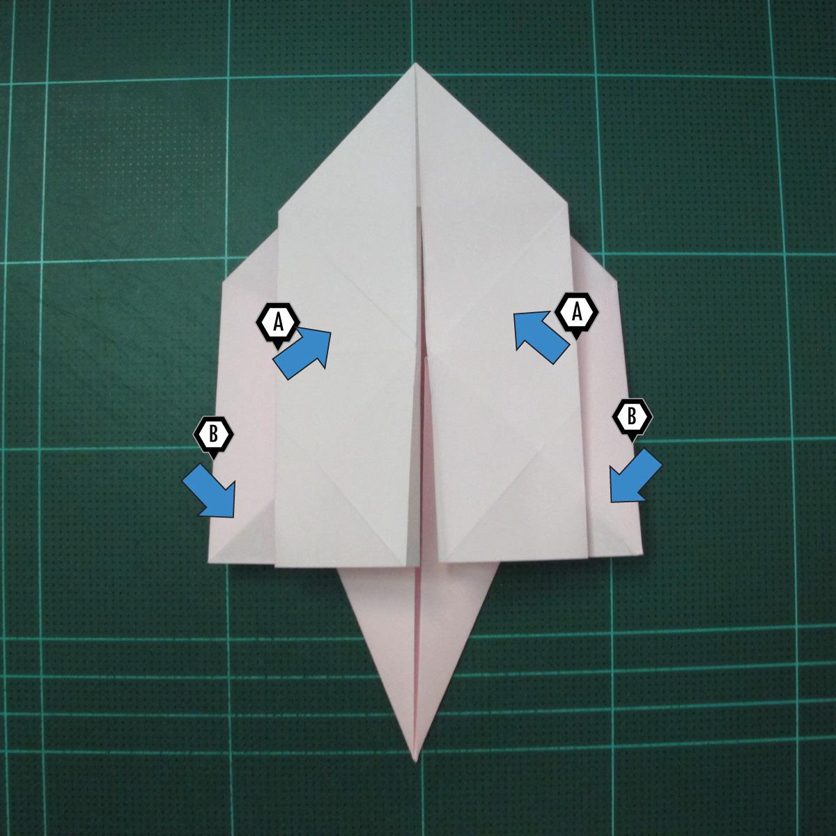 การพับกระดาษเป็นไดโนเสาร์ทีเร็กซ์ (Origami Tyrannosaurus Rex) 014