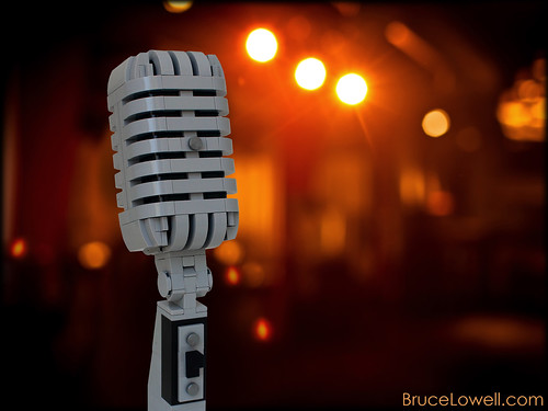 LEGO Shure Microphone