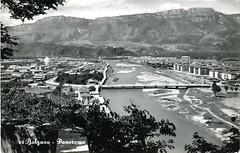 postcard - bolzano - panorama - 1959