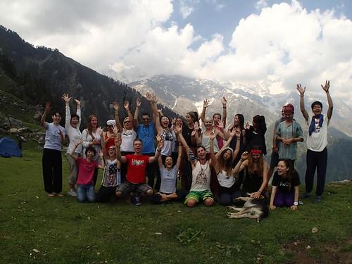 Chandra Yoga Students, May-June 2014