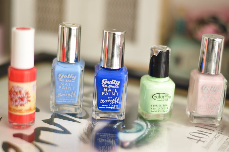 summer 2014 nail polish choices picks rottenotter rotten otter blog 2
