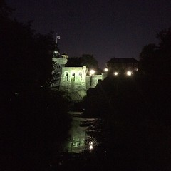 On clear nights the castle is pretty amazing.