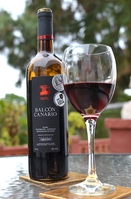Balcón Canario award winning wine