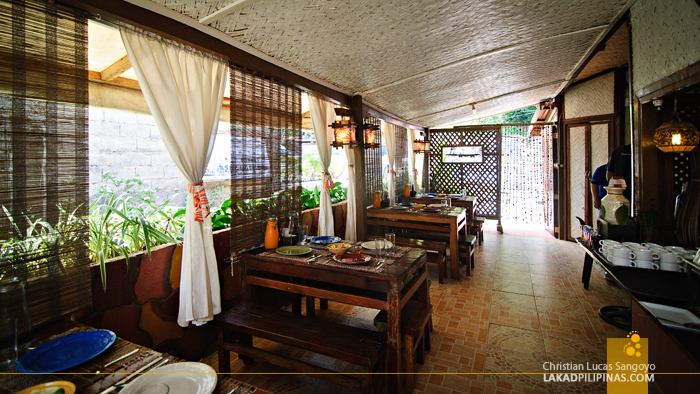 Homey Ambience at Santino's Grill in Coron