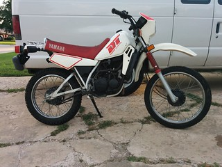 1989 yamaha dt 50 50cc enduro clean title 2nd owner. Black Bedroom Furniture Sets. Home Design Ideas