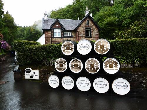 Reception Area at Glengoyne Distillery