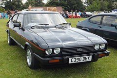 race car, automobile, vehicle, compact car, ford capri, ford, sedan, land vehicle, coupã©, sports car,