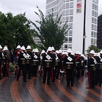 Armed Forces Day, Birmingham - Cenenary Way - parade - forces band