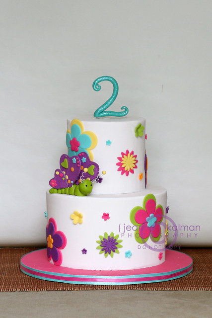 2nd Year Birthday Cake Designs For Baby Girl : Happy 2nd Birthday Brynn... Flickr - Photo Sharing!