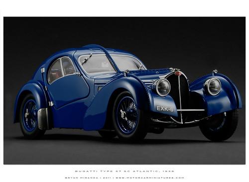 Bugatti 1938 Type 57 SC Atlantic Coupé in Blue