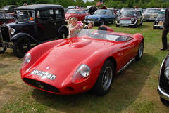 ferrari monza(0.0), race car(1.0), automobile(1.0), maserati 450s(1.0), vehicle(1.0), automotive design(1.0), antique car(1.0), land vehicle(1.0), supercar(1.0), sports car(1.0),