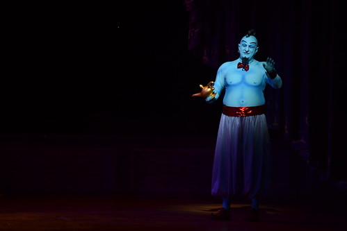 Genie from the bottle; CC BY-ND licensed by Loren Javier