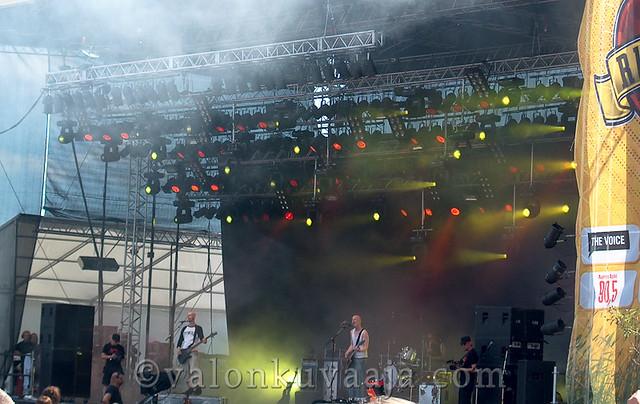 Ruisrock 2005 sunnuntai - Apulanta