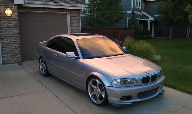 E46 2000 328ci Lowered On Bilsteins 8000