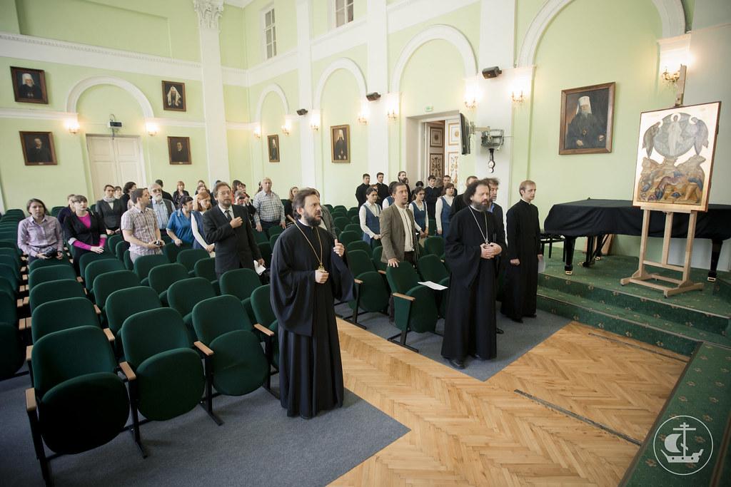11 июня 2014, Защита дипломных работ иконописного отделения / 11 June 2014, Defense of the diploma works of the icon department