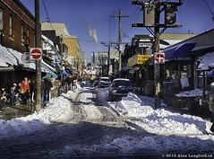 Kensington Market in Winter