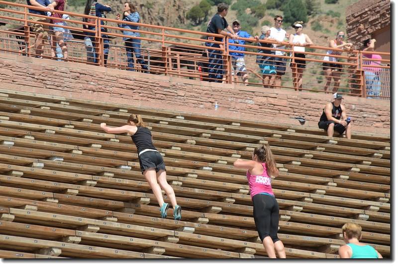 Terraces(seats)of Amphitheatre 2