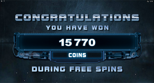 Terminator 2 Free Spins Win