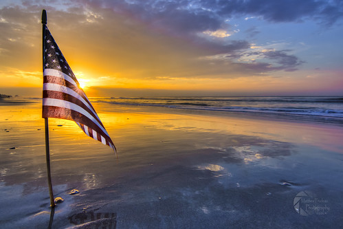 old sunrise myrtlebeach day unitedstates glory flag southcarolina july american independence 4thofjuly fourth proudamerican